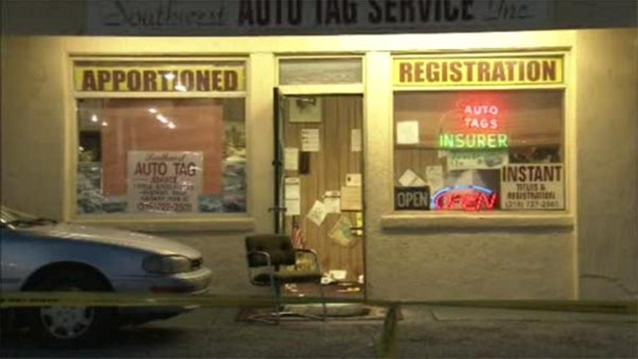 A local business owner is in critical condition after an armed robbery that turned violent in Southwest Philadelphia.