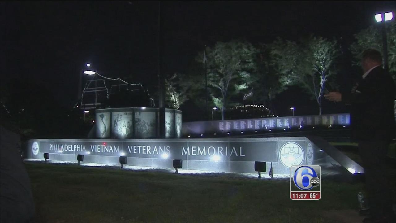 VIDEO: Philadelphia Vietnam Veterans Memorial