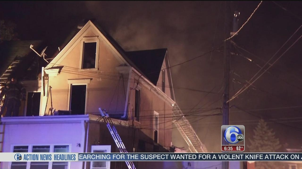 VIDEO: Fire damages apartment house in Delaware