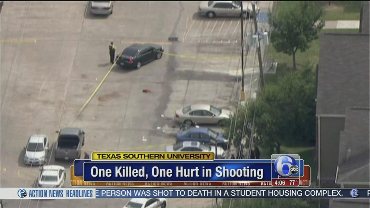 VIDEO: 1 killed, 1 hurt in Texas Southern Univ. shooting