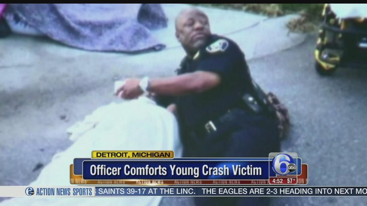 101215-wpvi-officer-helps-430-video-new