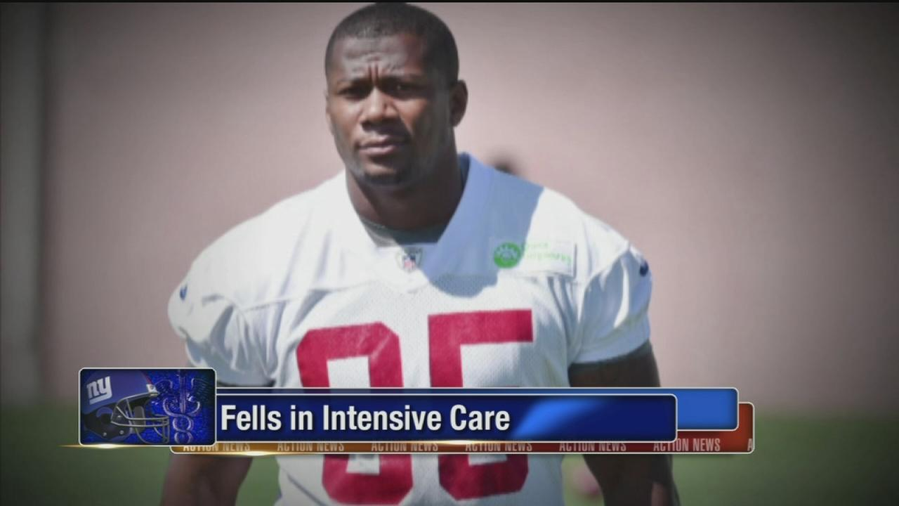 VIDEO: Giants Fells fighting MRSA infection