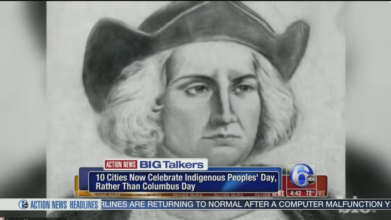VIDEO: More cities are recognizing Native Americans on Columbus Day