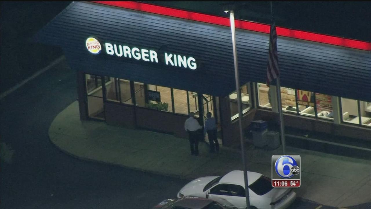 VIDEO: Robber steals register from Burger King