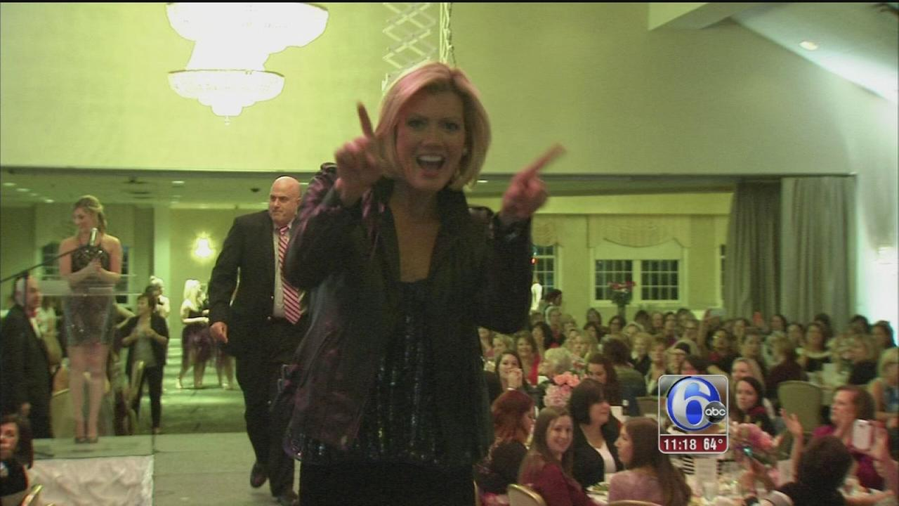 VIDEO: Cecily Tynan struts for Girls Night Out