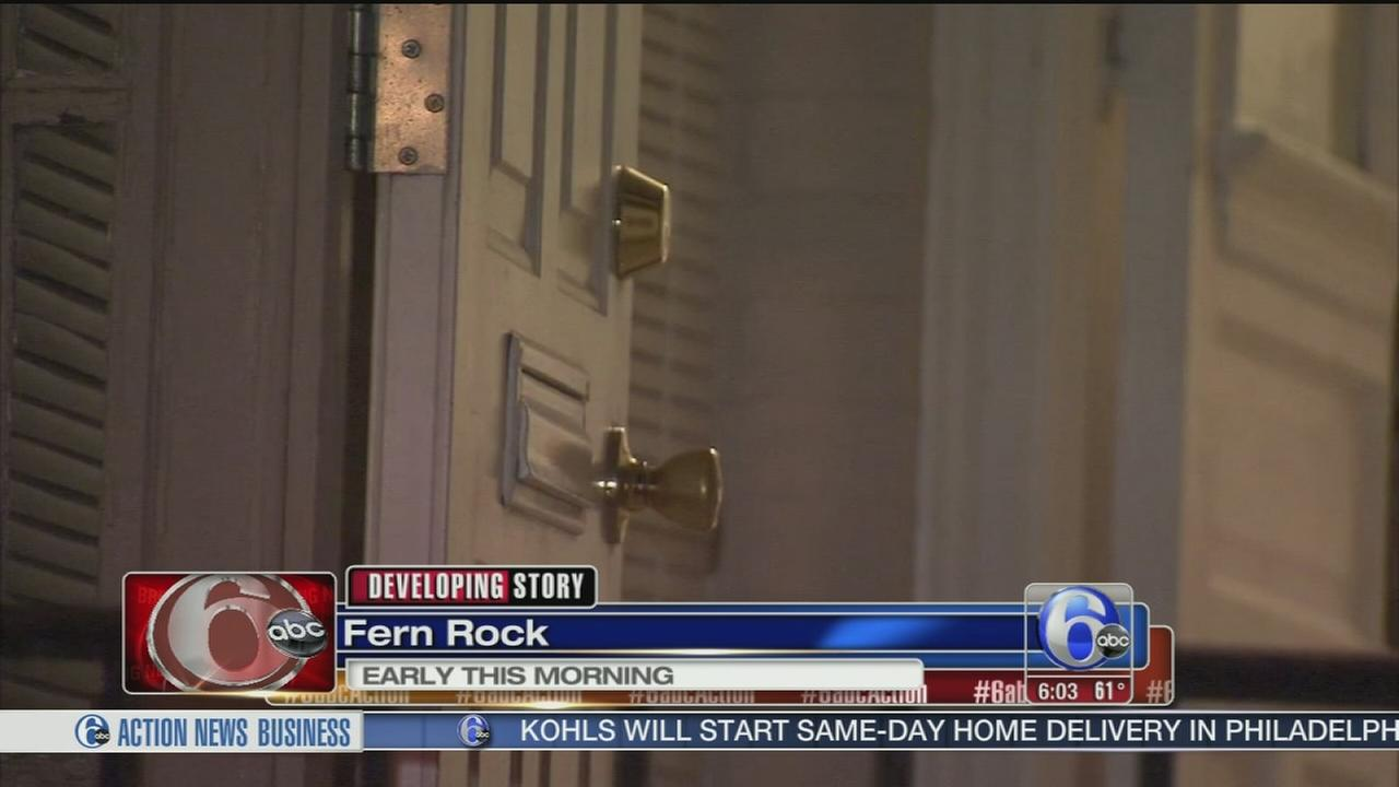 VIDEO: Man attacked in Fern Rock home