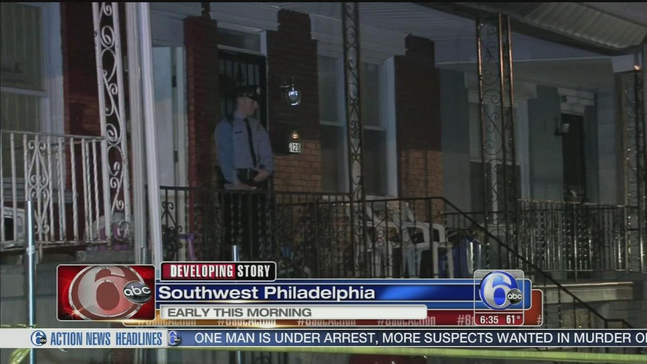 VIDEO: Father of 3 shot in SW Phila.