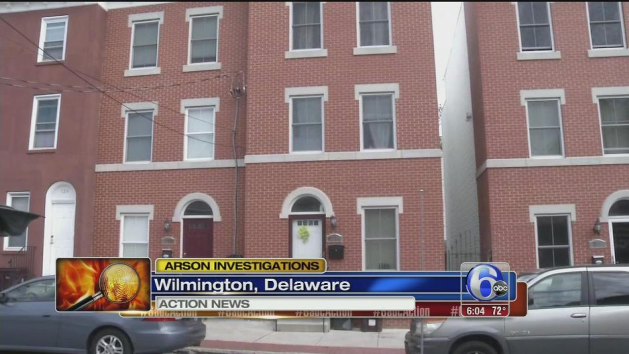 VIDEO: Arson investigations in Wilmington