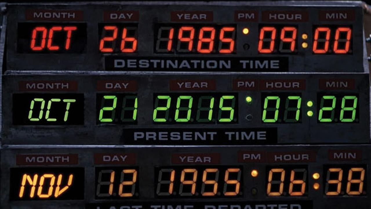 "Happy ""Back to the Future"" Day! Yes it is that day that Marty ..."