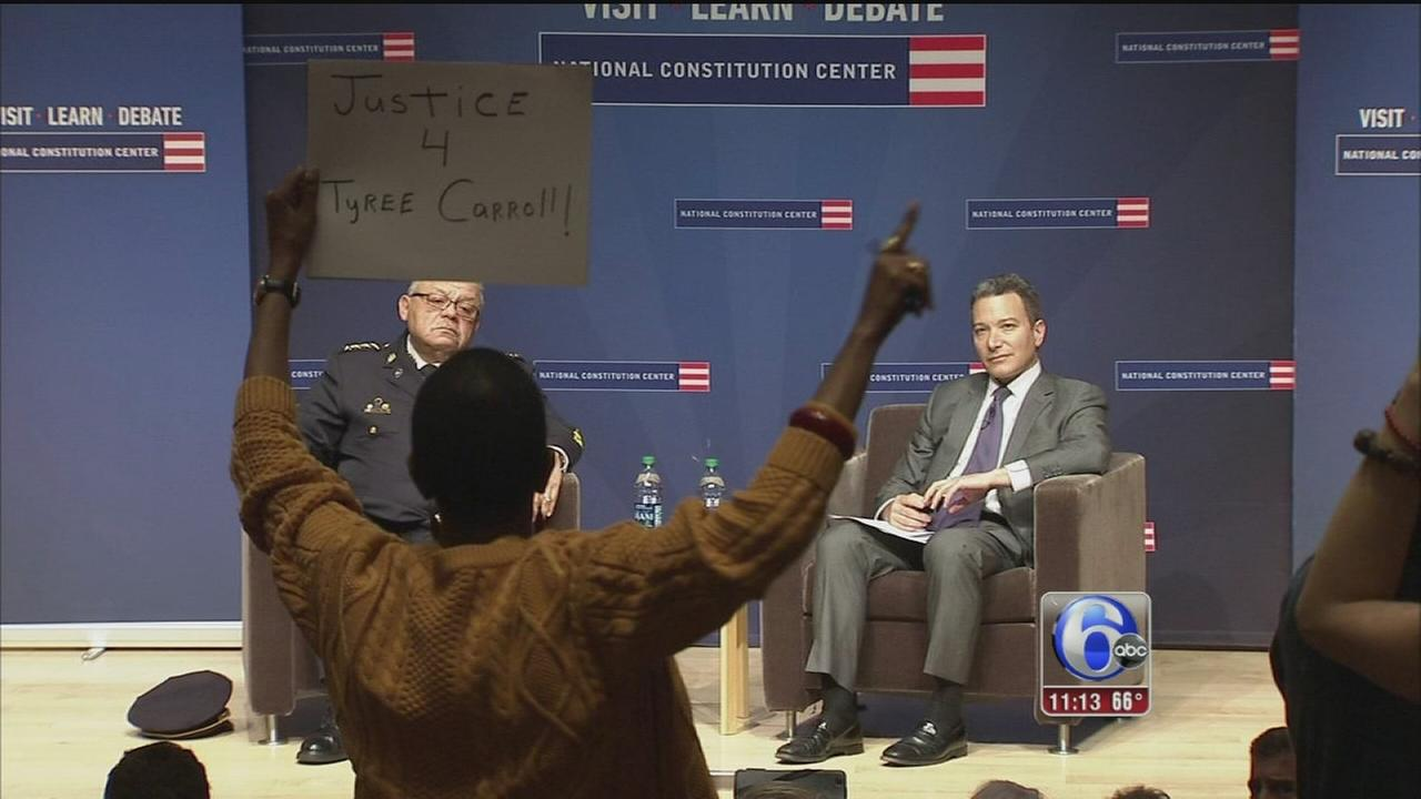 VIDEO: Protesters interrupt Ramseys town hall