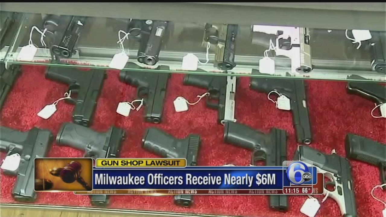 VIDEO: Gun shop ordered to pay millions to injured police officers