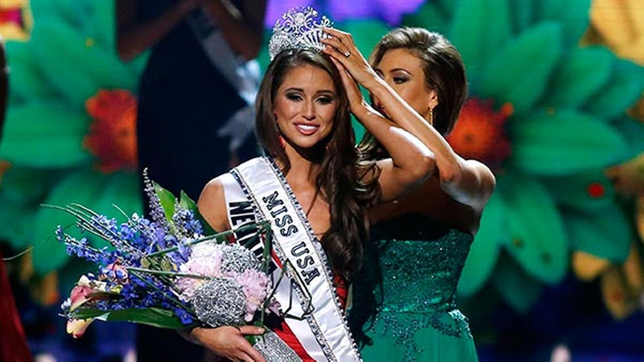 Miss Nevada USA, Nia Sanchez, crowned Miss USA