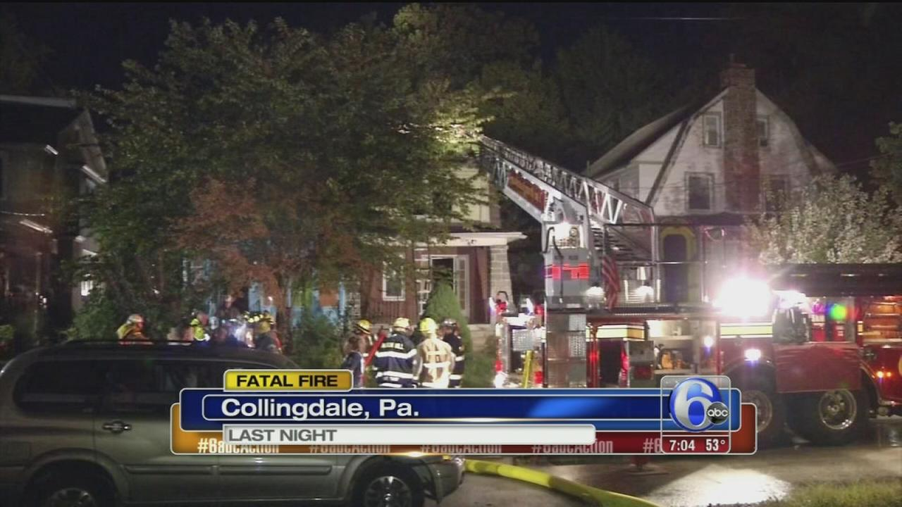 VIDEO: Collingdale fire