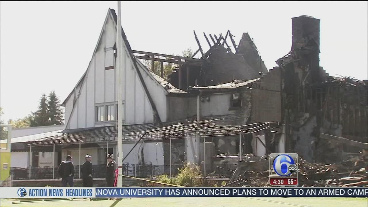 VIDEO: Search for answers following country club fire