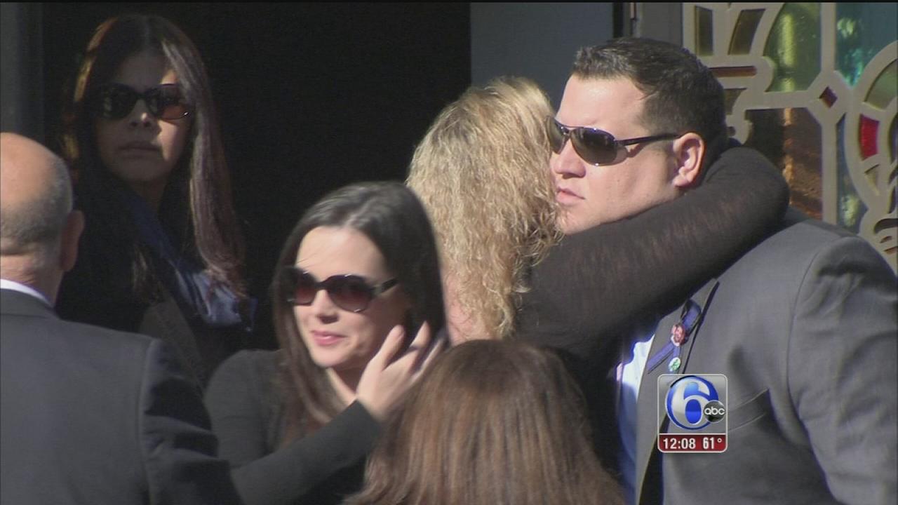 VIDEO: Funeral held for Brendan Creato
