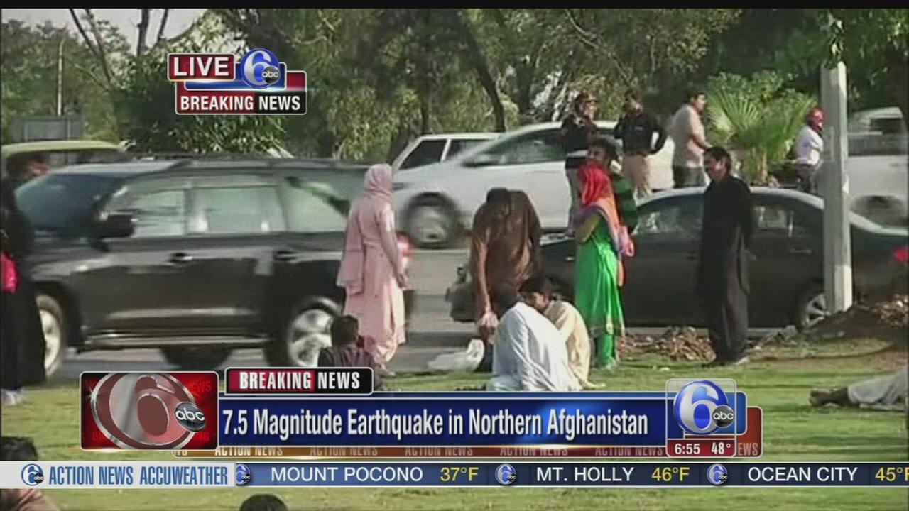 VIDEO: Earthquake hits Afghanistan