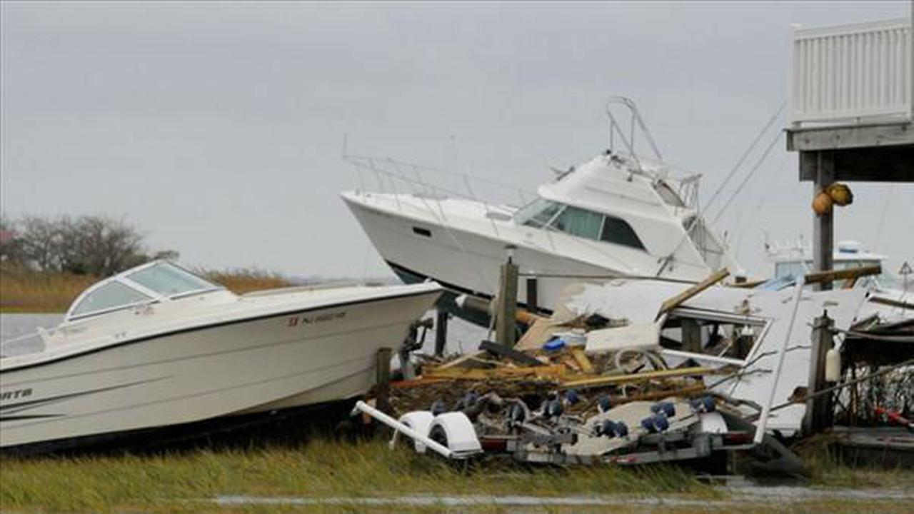 PHOTOS from 2012: Damage from Hurricane Sandy