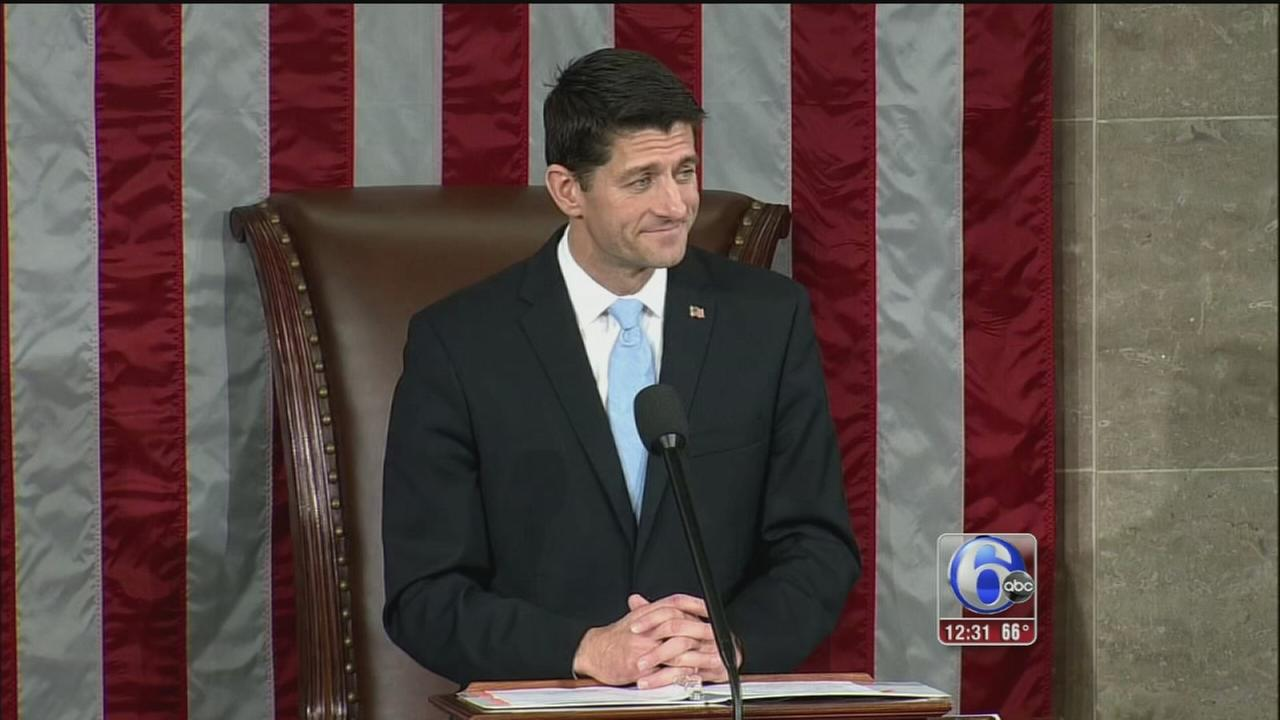 VIDEO: Paul Ryan elected Speaker of the House