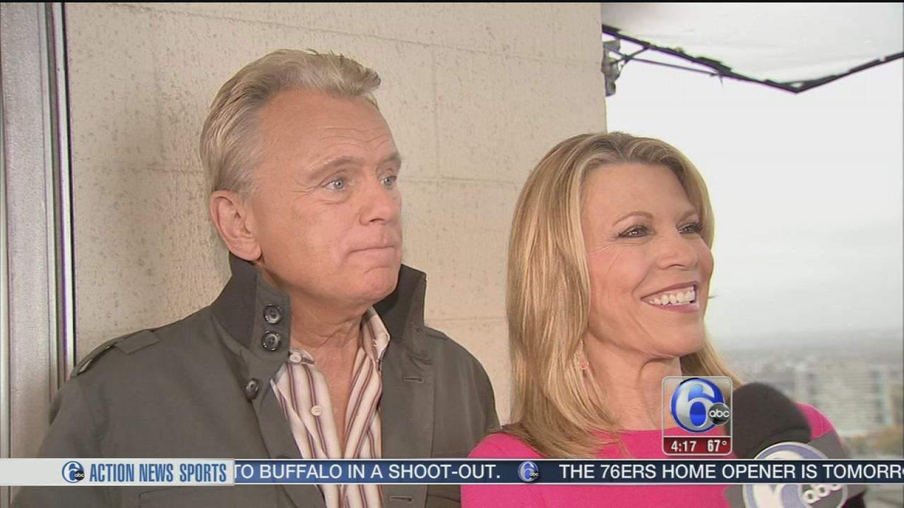 VIDEO: Wheel of Fortune hosts tour Philadelphia for themed week