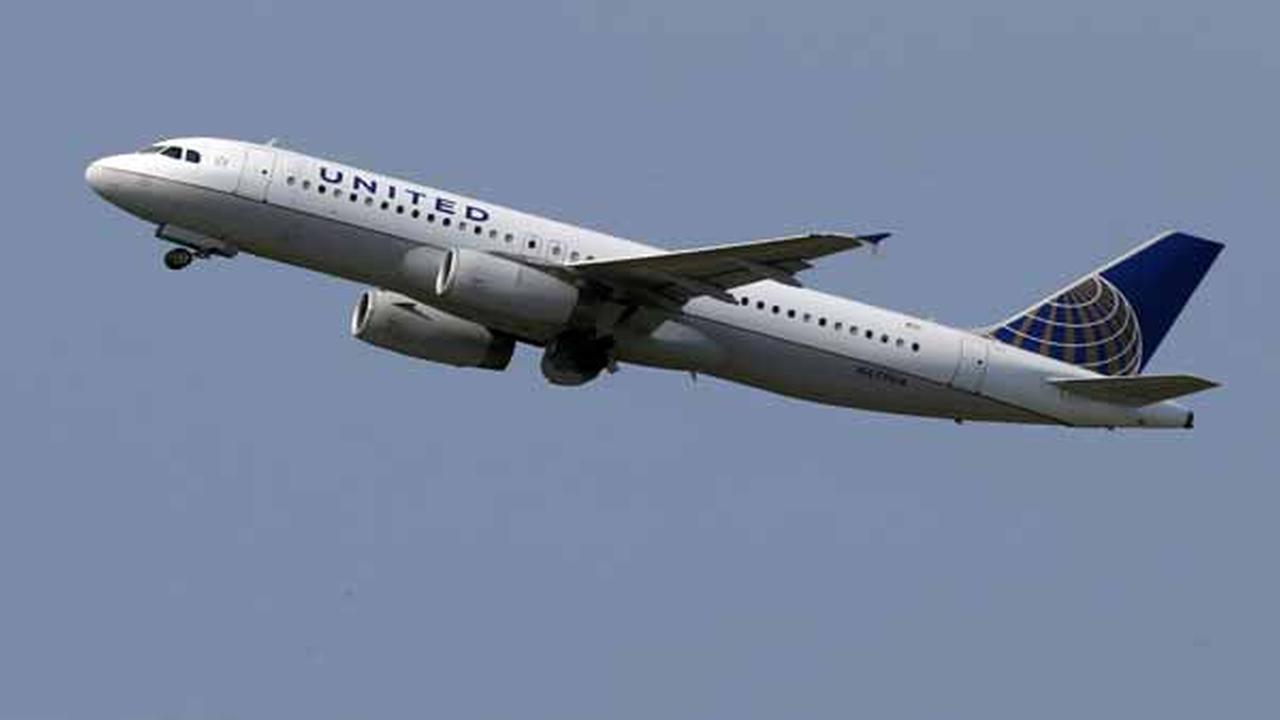 In this Tuesday, July 23, 2013, photo, a United Airlines jet takes off from Pittsburgh International Airport in Imperial, Pa.