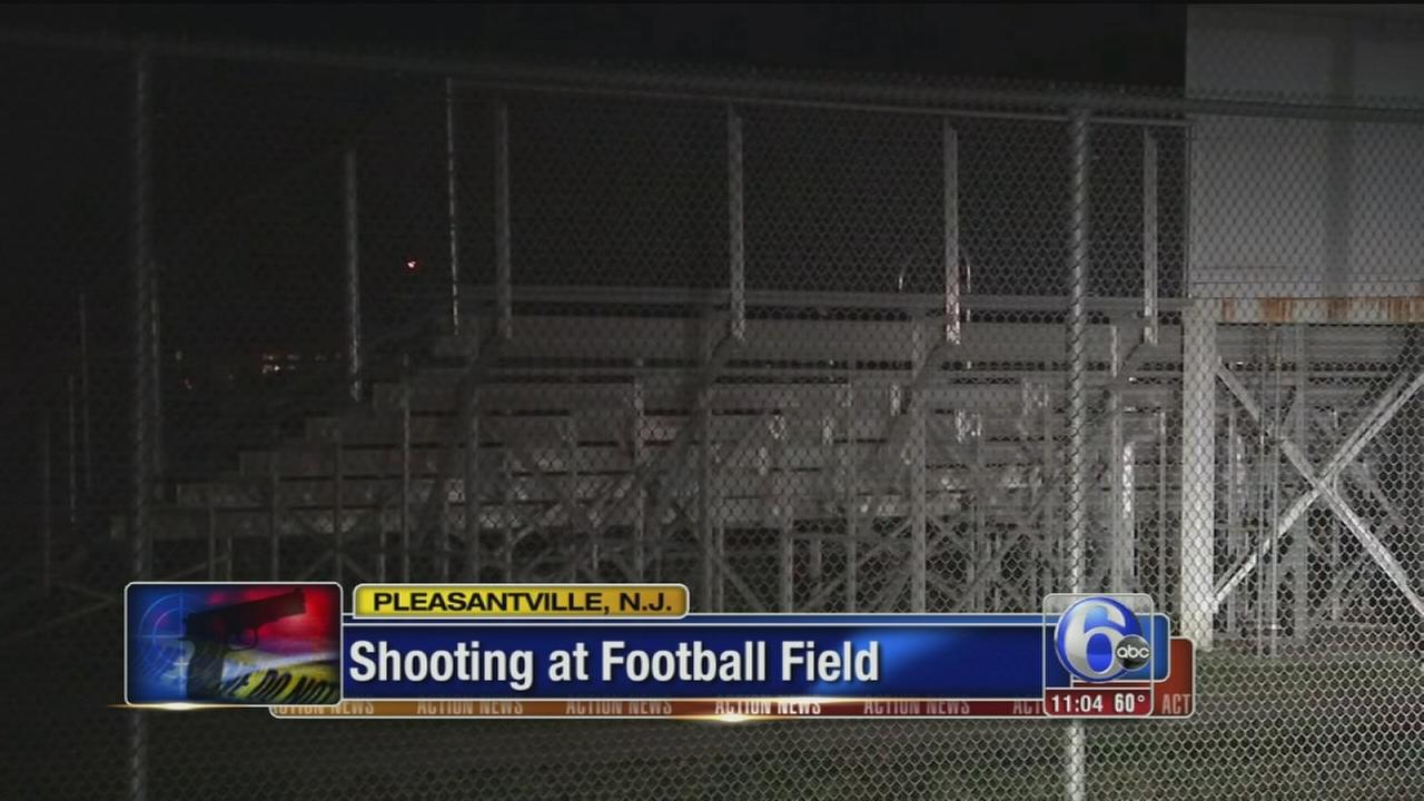 VIDEO: Shooting at NJ football field