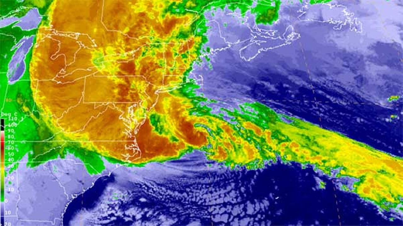 Superstorm Sandy: From uncertain path to devastating impact