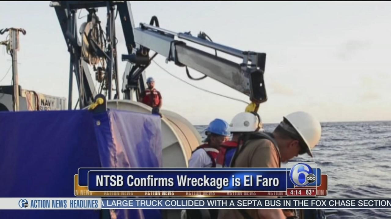 VIDEO: NTSB confirms wreckage found is El Faro