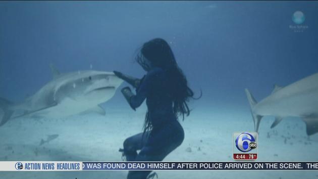 Video Real Life 'mermaid'