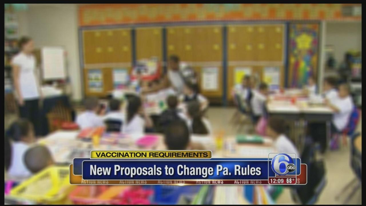 VIDEO: Pennsylvania to seek stronger child immunization regulations