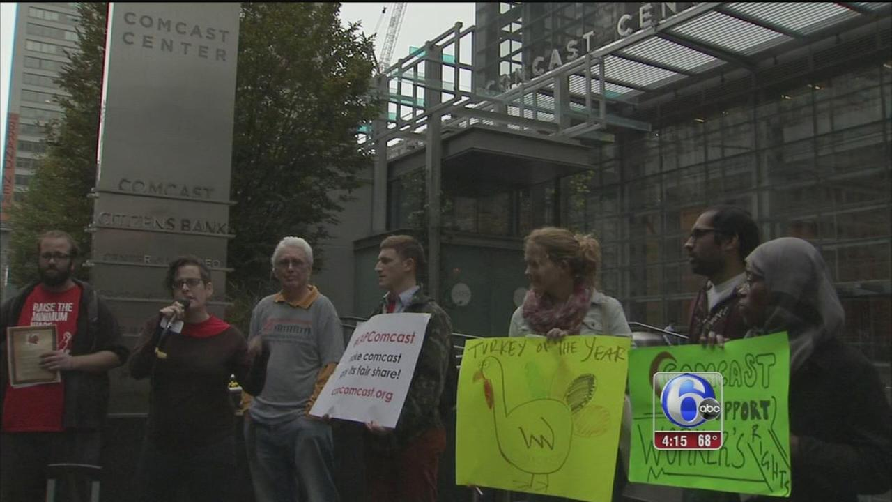 VIDEO: Protestors call for affordable internet