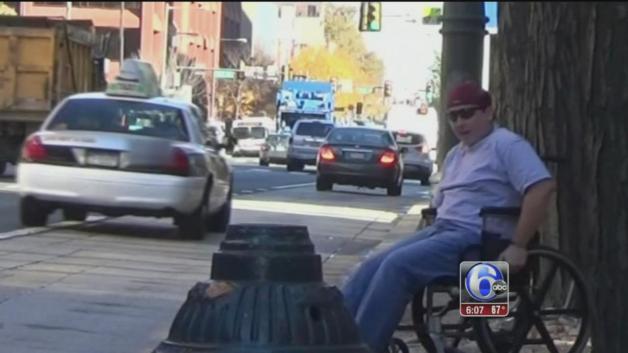 VIDEO: Handicapped cab bias folo