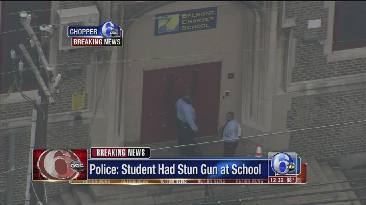 VIDEO: Child with stun gun at Phila. school