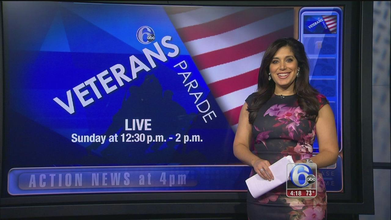 VIDEO: Veterans parade on 6abc