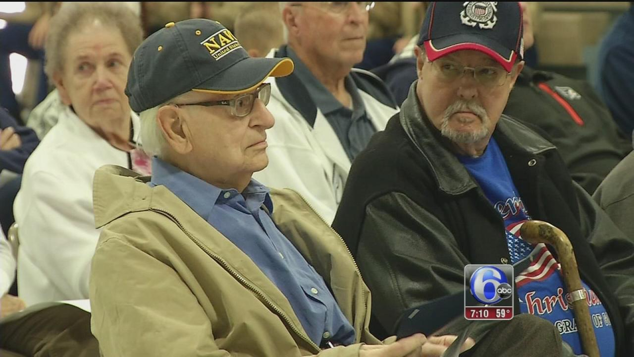 VIDEO: Veterans being recognized for service ahead of holiday