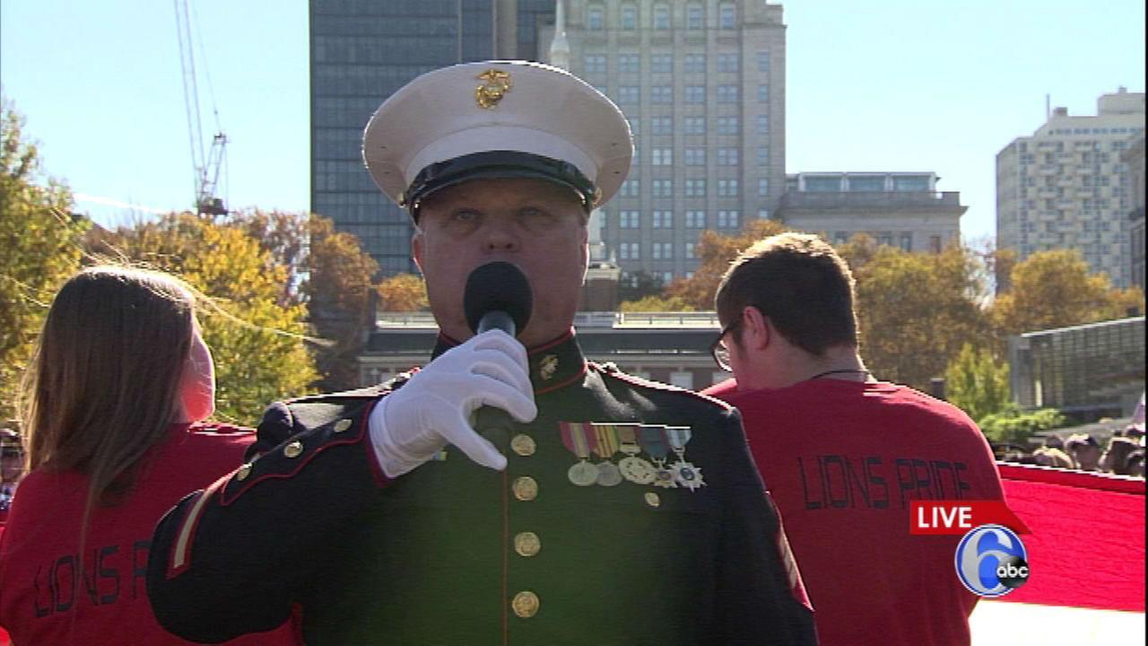 PHOTOS: 1st annual Philadelphia Veterans Day Parade