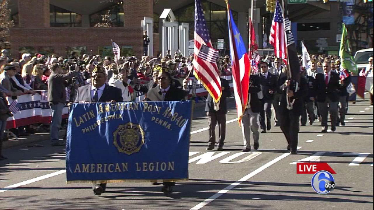 PHOTOS: 1st annual Philadelphia Veterans Day Parade