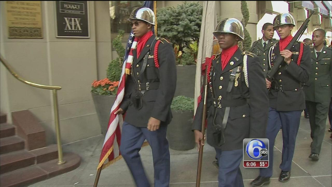 VIDEO: Philadelphia Veterans Day Parade