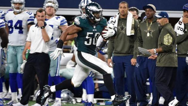 nfl GAME Philadelphia Eagles Jordan Hicks Jerseys