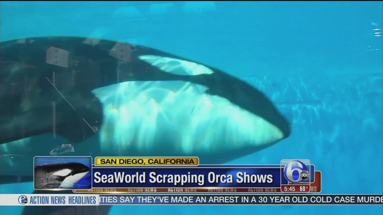 VIDEO: SeaWorld scrapping Orca shows