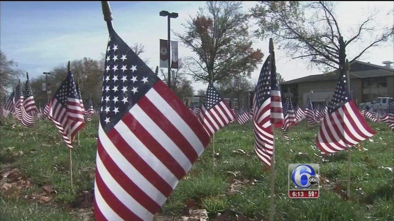 VIDEO: Events around New Jersey honor veterans
