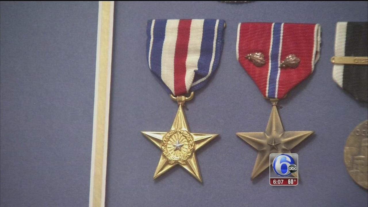 VIDEO: Silver Star returned to WWII heros family