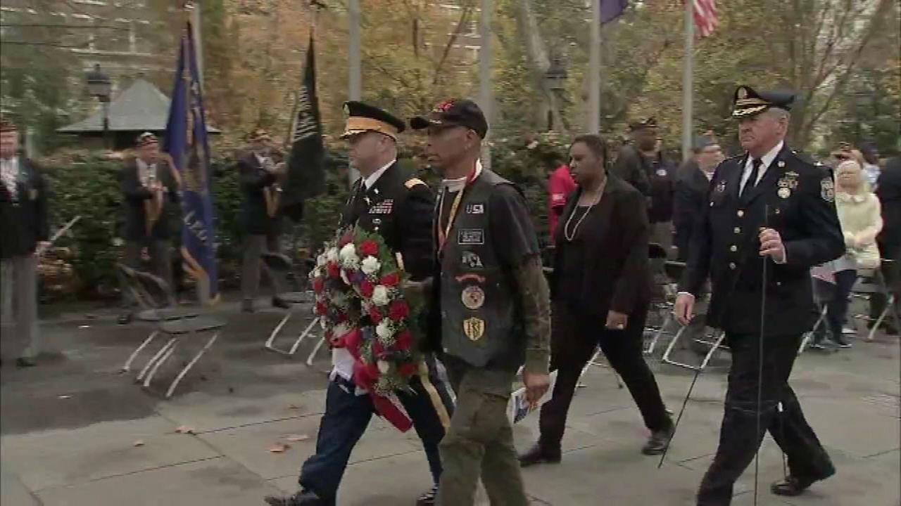 PHOTOS: Veterans Day around the area