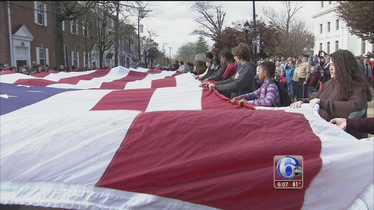 VIDEO: Media Veterans Day Parade