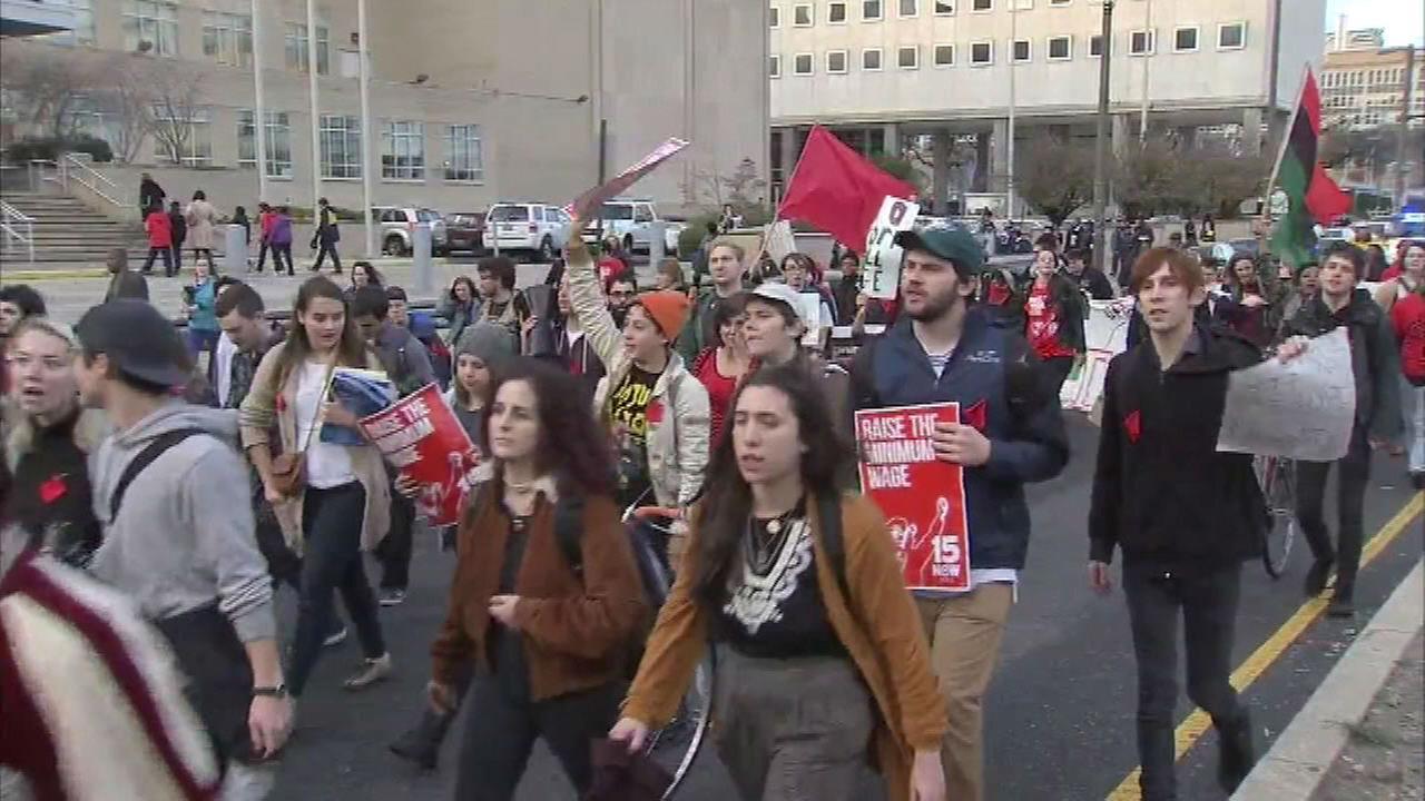 PHOTOS: Million Student March in Philadelphia