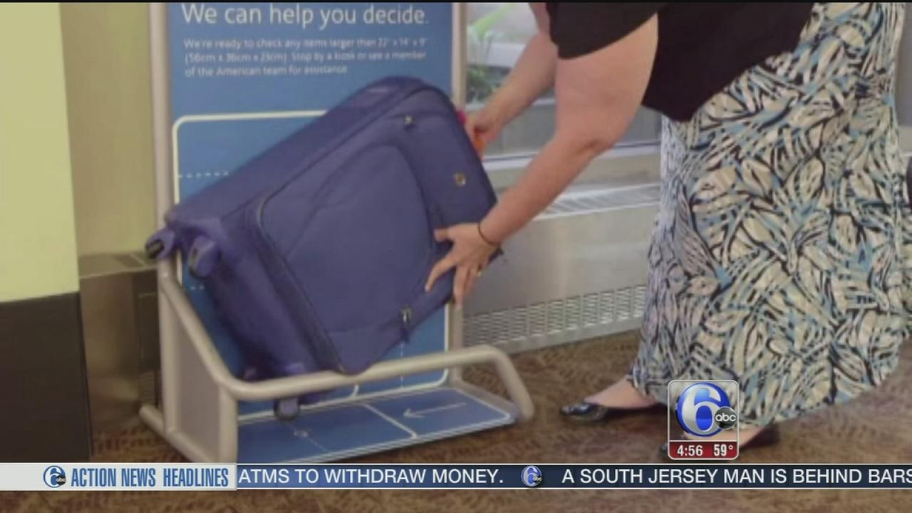 VIDEO: Carry-on luggage isnt always carry-on sized