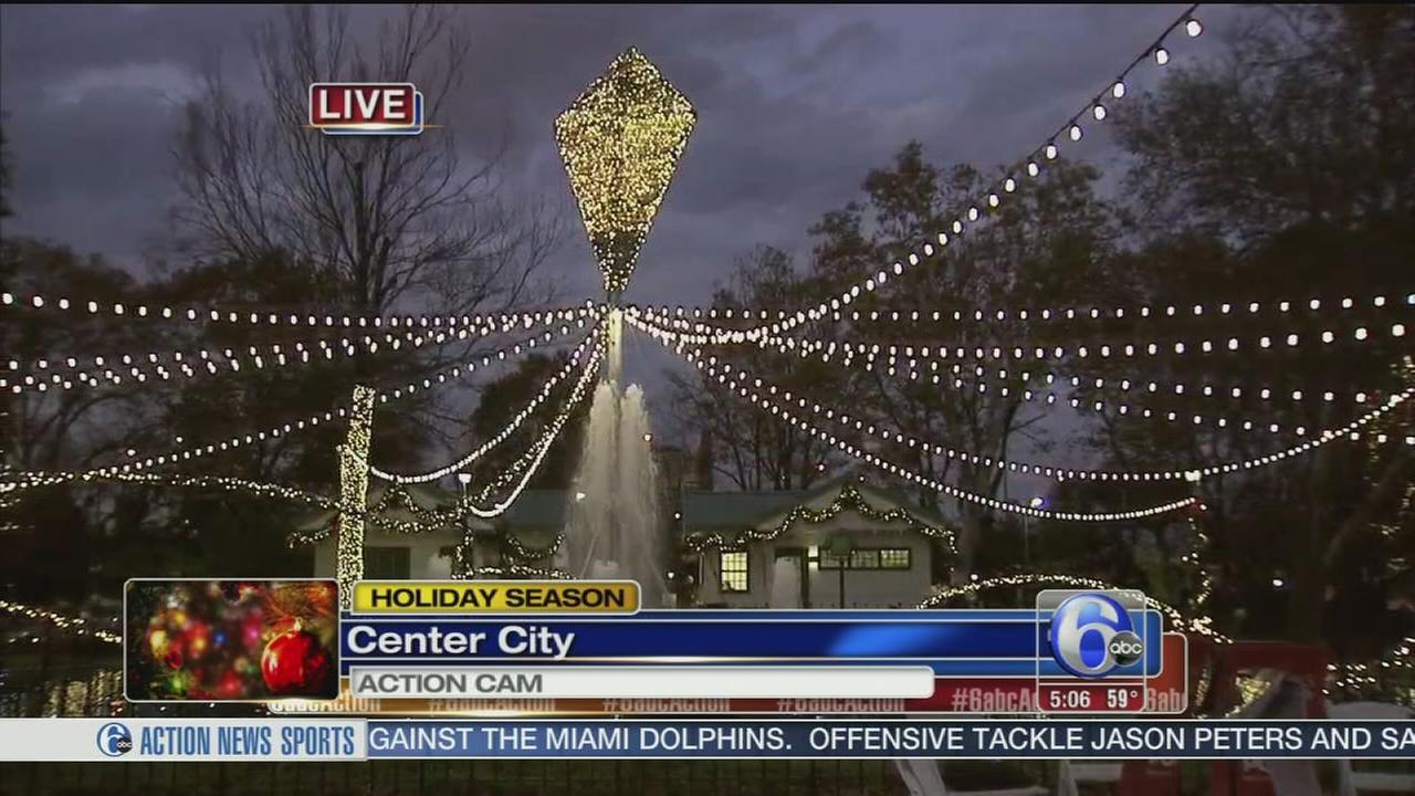 VIDEO: Holiday festivities kick off at Franklin Square