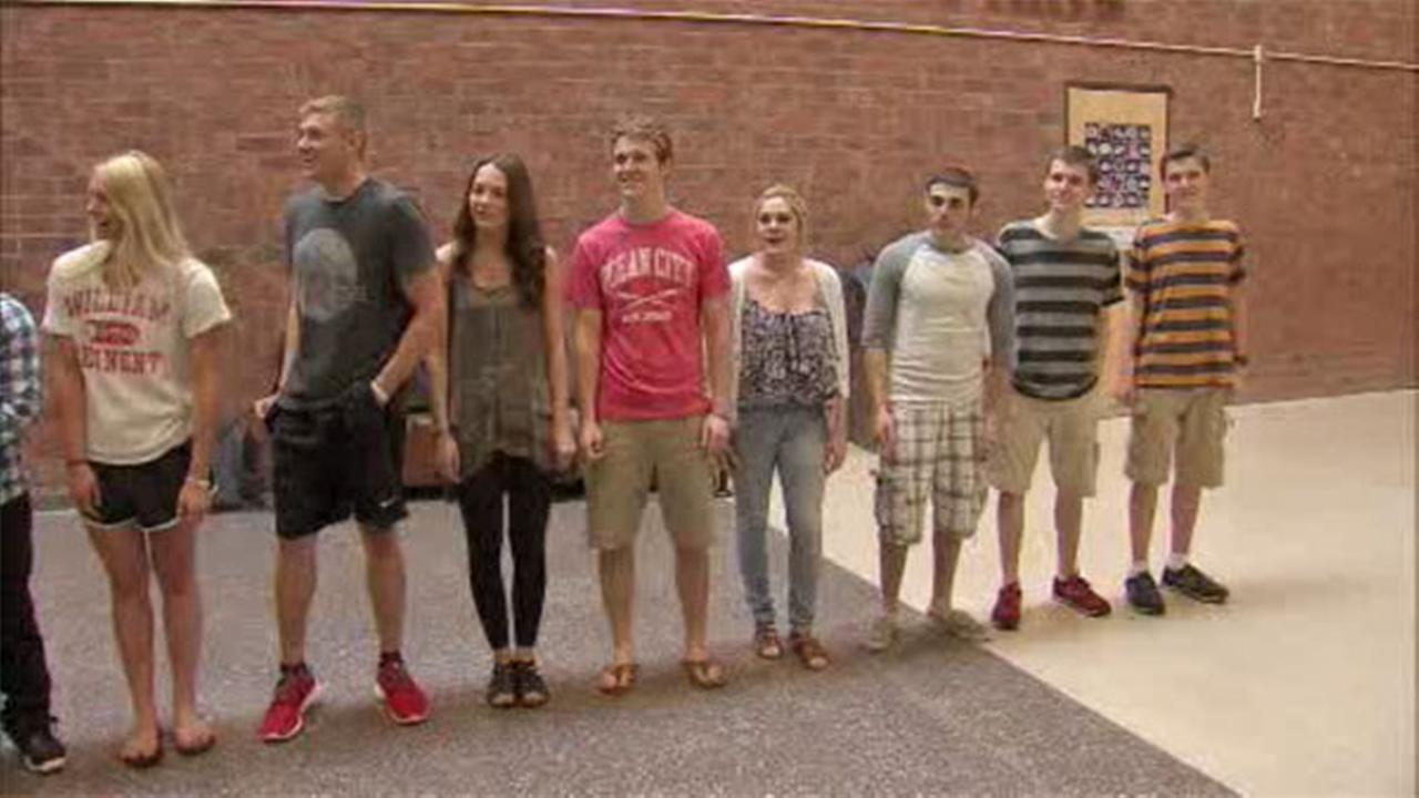 VIDEO: 14 sets of twins in local graduating class
