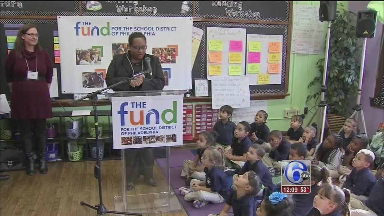 VIDEO: Fundraising for Phila. schools