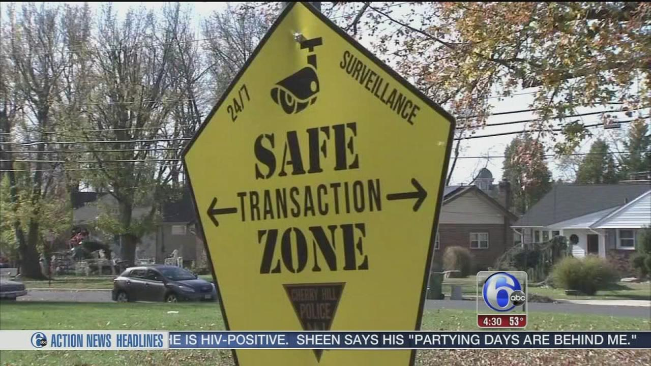 VIDEO: Cherry Hill Police set up safe zones for Craigslist meets