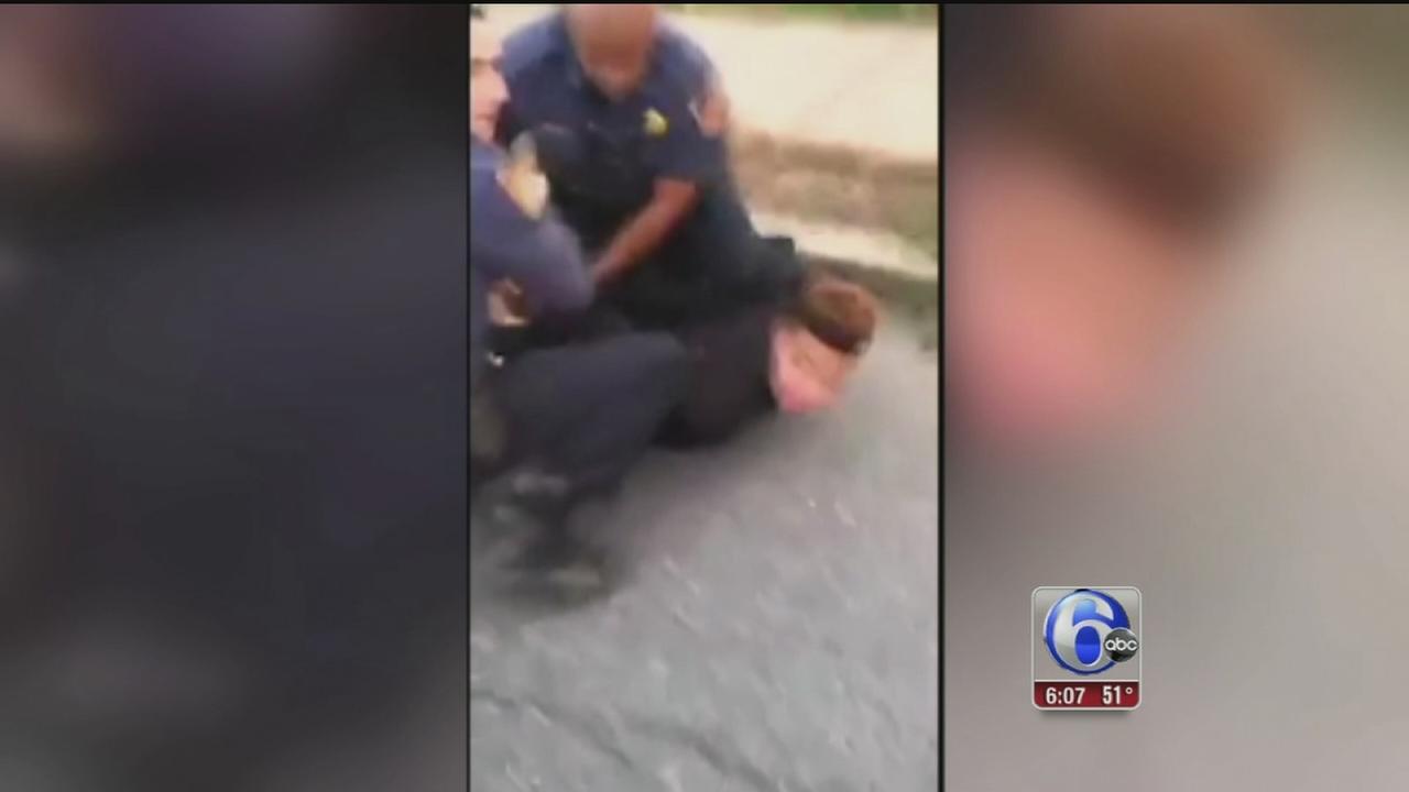 VIDEO: Confrontation between police, teens in Allentown